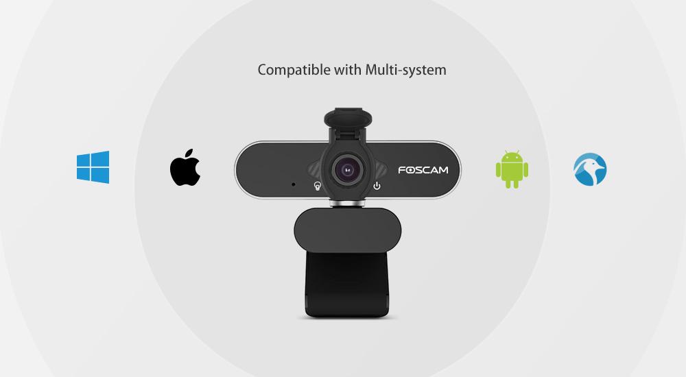 Foscam webcam for Zoom and Skype