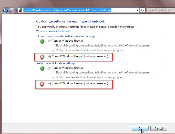 """How to fix the problem during setup when FTP prompts """"FTP"""