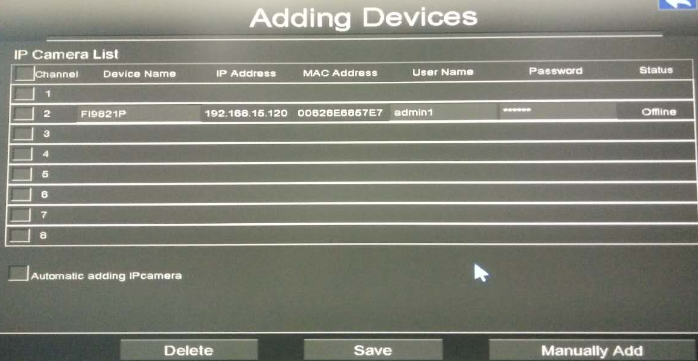 How to add 3rd Party Camera to the Foscam NVR System?-Foscam Support