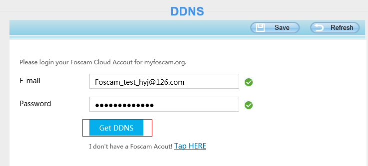 How to obtain and install a Foscam DDNS?-Foscam Support - FAQs