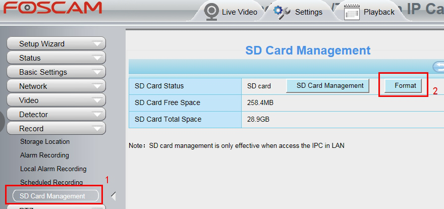 What can I do if camera cannot recognize the micro SD card