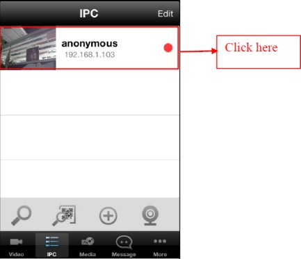 How to add cameras to Foscam Viewer on iOS devices in LAN