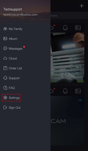 How to set up alarm push message on the Foscam App?-Foscam