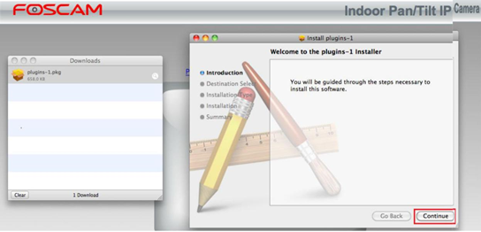 How to install the web browser plugin on Mac?-Foscam Support - FAQs