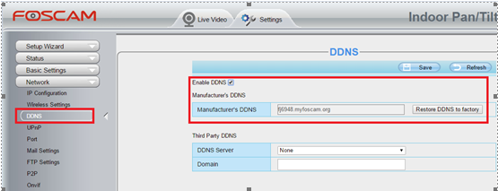How to access Foscam HD camera remotely with DDNS and Port