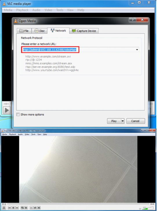 How to use the RTSP and HTTPS settings on Foscam HD cameras