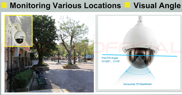 Promo Foscam Fi9828p 1.3mp 960p Pan Tilt Zoom Wireless ...