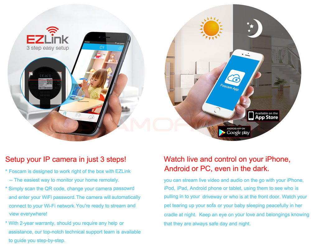 Foscam R4 Ultra Hd 1440p 40mp Pan Tilt Zoom Wireless Wired Security Wiring Diagram Free Ios And Android Colud App Supports Ieee 80211n Connection Wep Wpa Wpa2 Encryption Diagonal Angle Of View