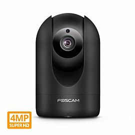 Foscam R4 Super HD 2K (4MP) WiFi Security Camera Black